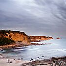 Shack Bay - Bunurong Coast  by James  Archibald