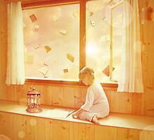 Books will teach you how to fly by Maria Paola R