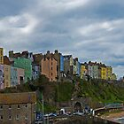 Tenby Harbour. by Tony Batey
