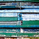 Color Palette on Barn Doors by Caleb Ward