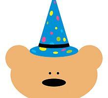 Teddy bear Wizard by chrisbears