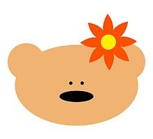 Teddy bear flower by chrisbears