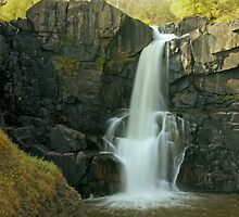 Grand Portage State Park Waterfalls by Tina Hailey