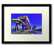 The chips building and Milliners Wharf Manchester Framed Print