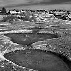 Eroded Puddles by yellocoyote