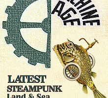 Machine Age Steampunk Poster by Tickleart