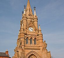 The clocktower in Stratford Upon Avon to mark Queen Victorias Golden Jubilee by Keith Larby