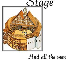 All the World's a Stage, William Shakspeare, As You Like It by Rupa
