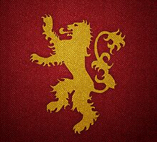 Game of Thrones - House Lannister by Guilherme Bermêo