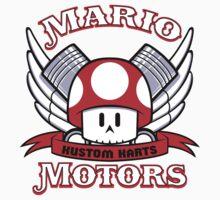 Mario Motors Kustom Karts Kids Clothes