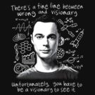 """Sheldon Cooper"" - To Be a Visionary by FabFari"