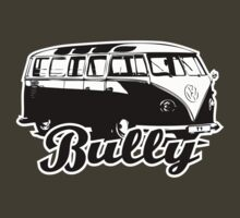 Retro BULLY T-Shirt 2 Color by MILK-Lover