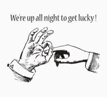 Get lucky! by Joe Kimble