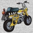 Retro Honda Monkey Z50A by LPdesigns