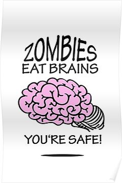 Zombies eat Brains by vivendulies