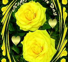 இڿڰۣ-ڰۣ—SAYING HAPPY MOTHER'S DAY WITH YELLOW ROSESஇڿڰۣ-ڰۣ— by ╰⊰✿ℒᵒᶹᵉ Bonita✿⊱╮ Lalonde✿⊱╮