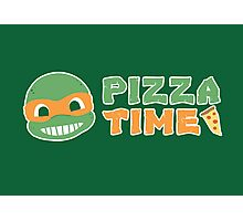 Pizza Time! Photographic Print