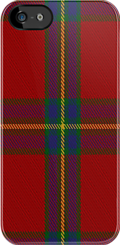 02024 Cruikshank Clan/Family Tartan Fabric Print Iphone Case by Detnecs2013