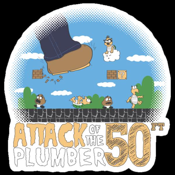 50 Foot Plumber by thehookshot