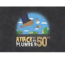 50 Foot Plumber Photographic Print