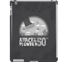 50 Foot Plumber - Black and White iPad Case/Skin