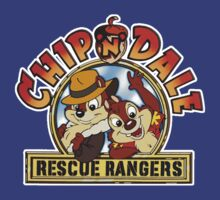 Chip'n'Dale Rescue Rangers logo shirt by fanboydesigns
