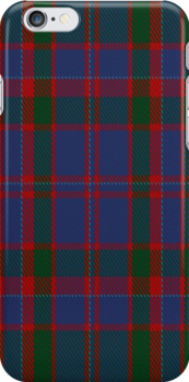 02030 Cumming of Glenorchy Clan/Family Tartan Fabric Print Iphone Case by Detnecs2013