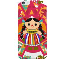 Maria 2 (Mexican Doll) iPhone Case/Skin