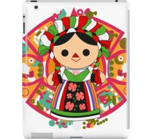 Maria 5 (Mexican Doll) iPad Case/Skin