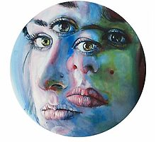 Irrenkünstler: Self-Portrait by Olivia McNeilis