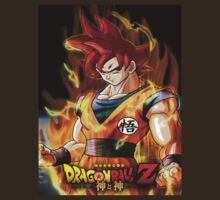 SUPER SAIYAN GOD by DBZKING