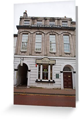 Buy e greeting cards uk - Odd -Fellow\'s Hall  in Kendal Uk Greeting Cards & Postcards