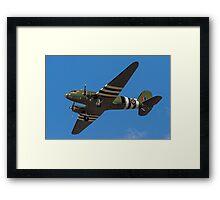 "Douglas Dakota C.3 ZA947 ""Kwischerbischen"" Framed Print"
