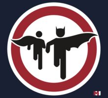Batman and Robin Crossing by thearmmory