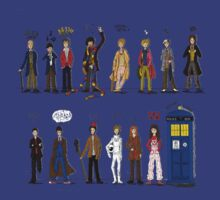 The Doctors and the Companions by sherly97