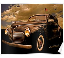 41 Plymouth Two-Door Poster