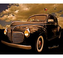 41 Plymouth Two-Door Photographic Print