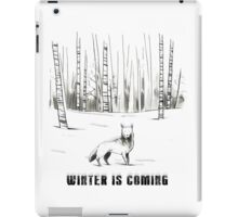 Winter is coming iPad Case/Skin