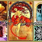 Art Nouveau  by ©The Creative  Minds