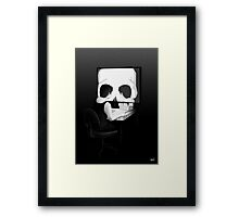 All Is Vanity 2.0 Framed Print