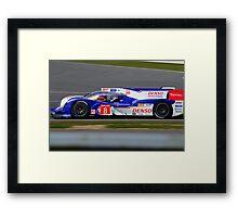 Toyota Racing No 8 Framed Print