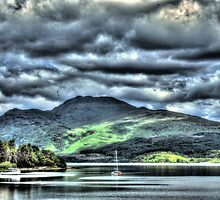 A Scottish Loch HDR by Anthony Hedger Photography