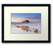 Slemish Mountain, County Antrim , Northern Ireland Framed Print