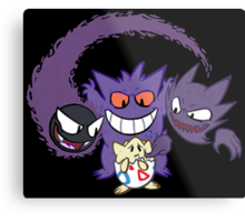 The Ghostly Trio Metal Print