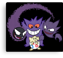 The Ghostly Trio Canvas Print