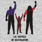 Daniel Bryan w/ Kane & Undertaker - Nephew of Destruction by Bob Buel