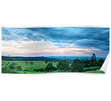 Glass House Cloud Scapes Poster