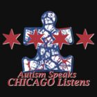 Autism Speaks, Chicago Listens by biddywax