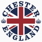 Chester Vintage Style British Flag by FlagCity