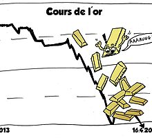 La chute d'or comique by Binary-Options